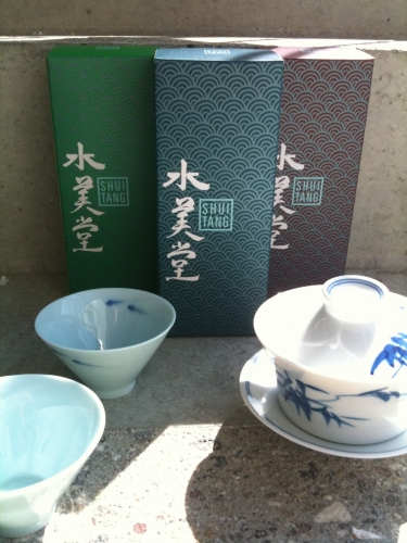 Shui Tang Packungen f&#xFC;r Gr&#xFC;ntee, Oolong, Schwarztee