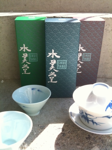 Shui Tang Packaging in bright daylight