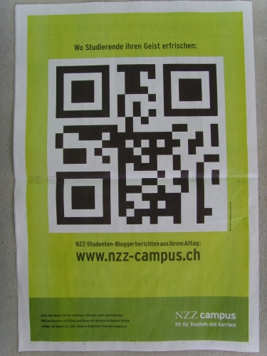 NZZCampus QR Code