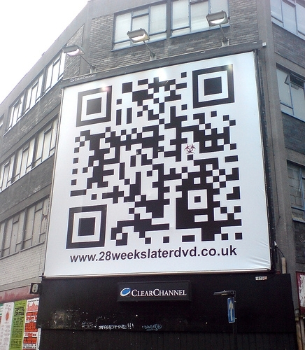 QR Code from www.28weekslaterdvd.co.uk by Gia