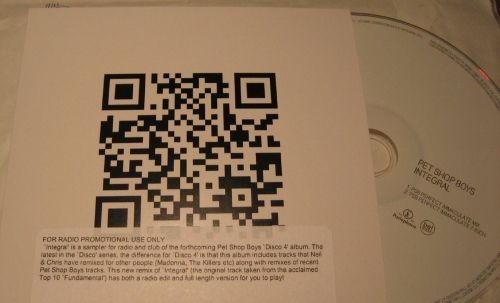 Pet Shop Boys QR Code