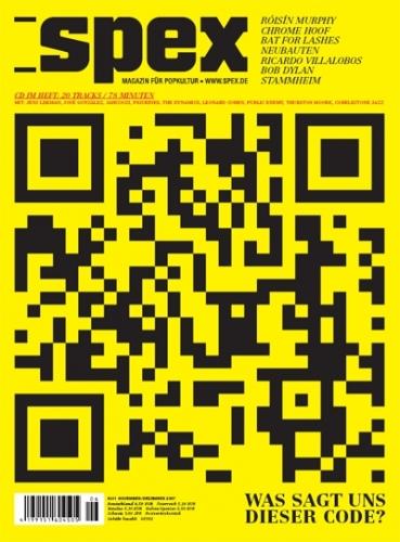 SPEX Cover: Was sagt uns dieser Code?