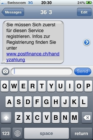 Antwort E-Mail von 363