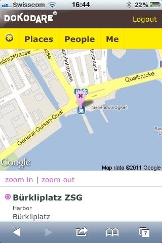 DokoDare Place Bürkliplatz ZSG